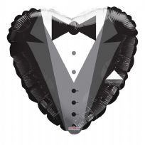 "18"" Groom Tux Balloon"
